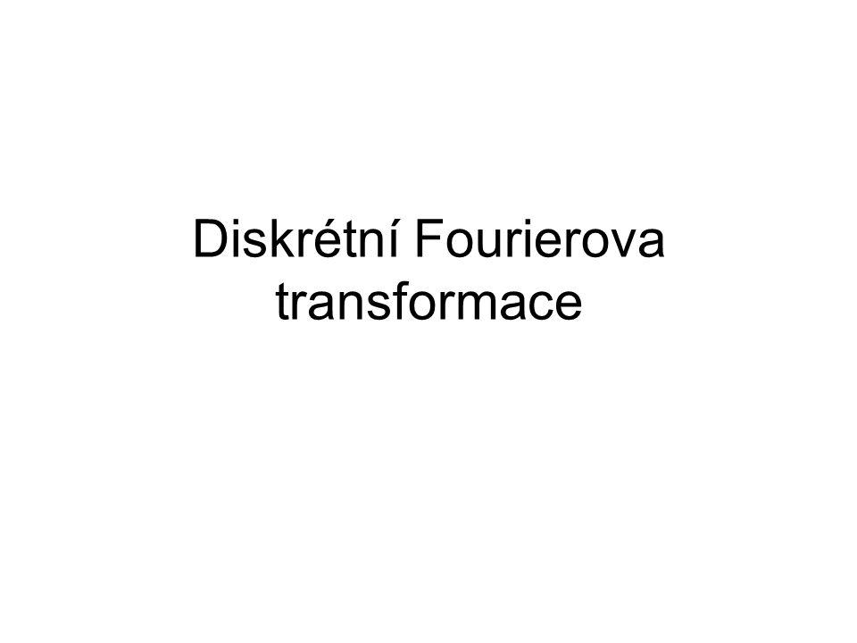 8.Vlastnosti spektra reálné a sudé posloupnosti je-li x(n) reálná a sudá je i X(k) reálná sudá 9.Vlastnosti spektra reálné a liché posloupnosti je-li x(n) reálná a lichá, pak je X(k) imaginární, lichá 10.Alternativní vzorec pro výpočet IDFT K výpočtu inverzní transformace je možné použít algoritmů pro výpočet DFT: nejprve obrátíme znaménka hodnot imaginární části X(k), vypočteme DFT obrátíme znaménka imaginárních částí vypočtených hodnot výsledek vydělíme N