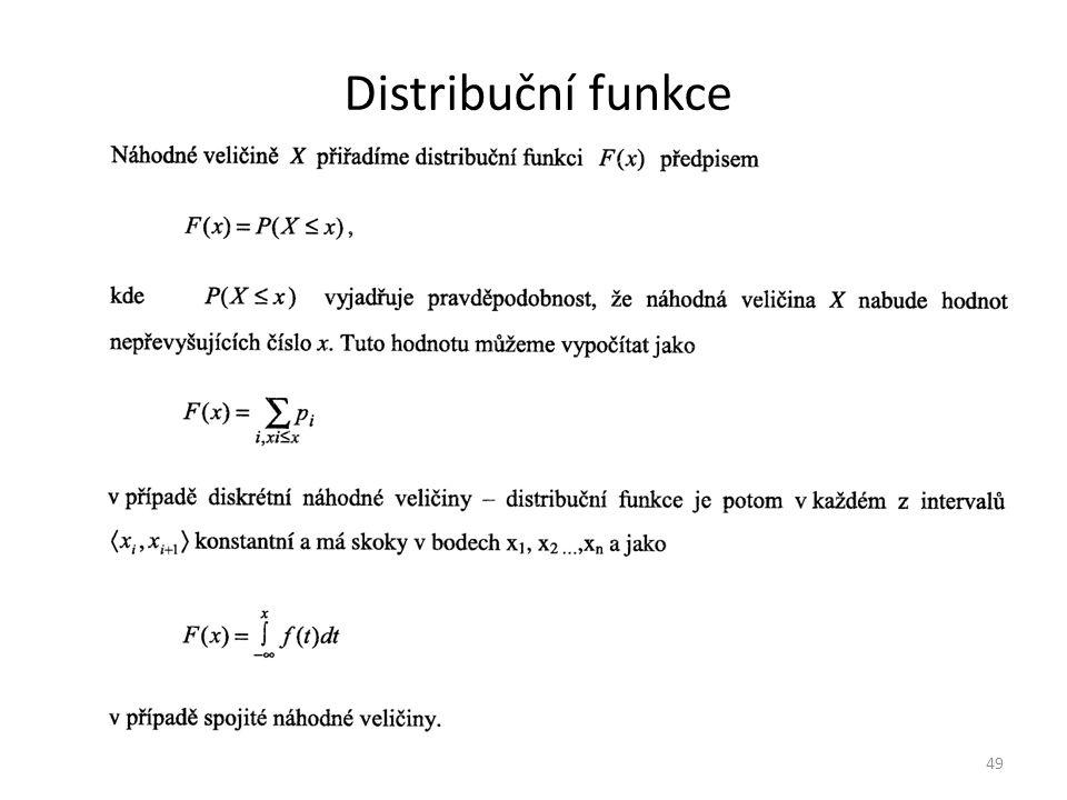 Distribuční funkce 49
