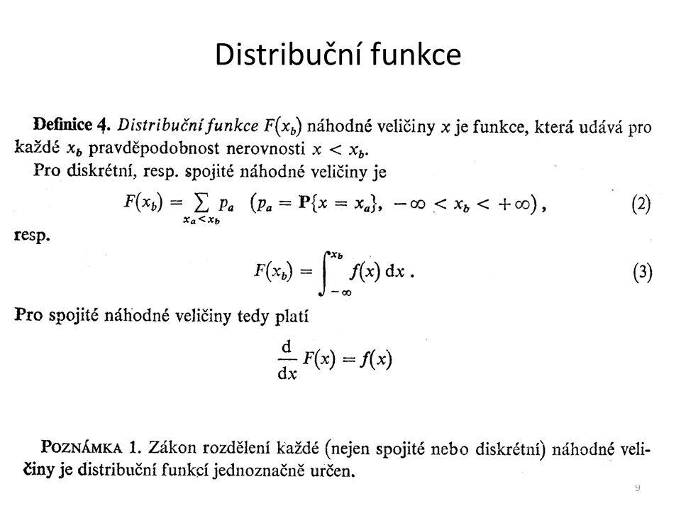 Distribuční funkce 9