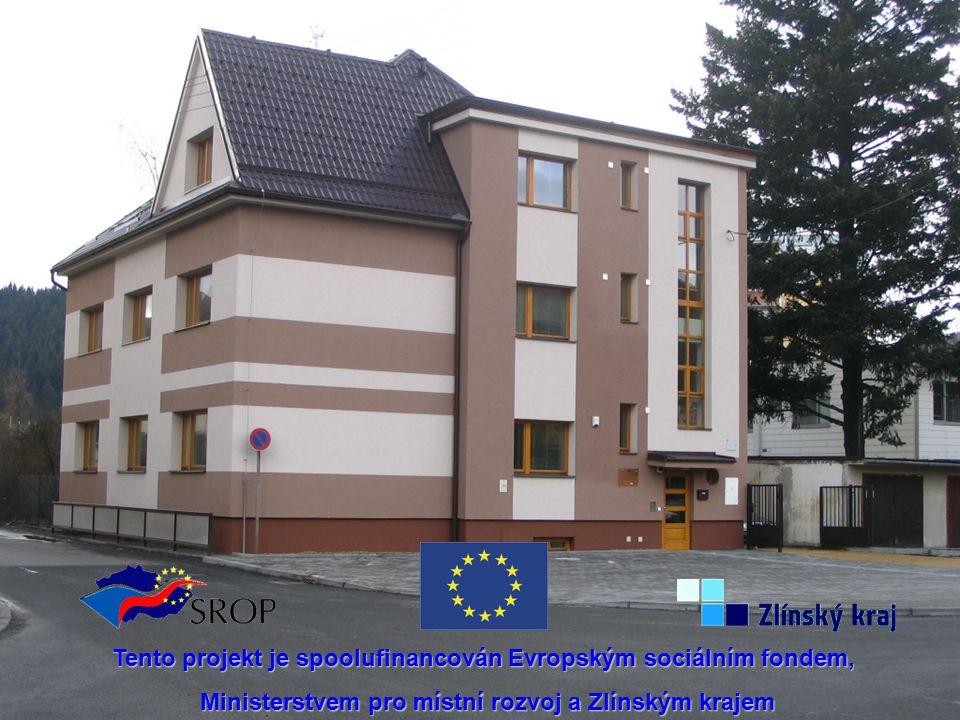Tento projekt je spoolufinancován Evropským sociálním fondem, Ministerstvem pro místní rozvoj a Zlínským krajem