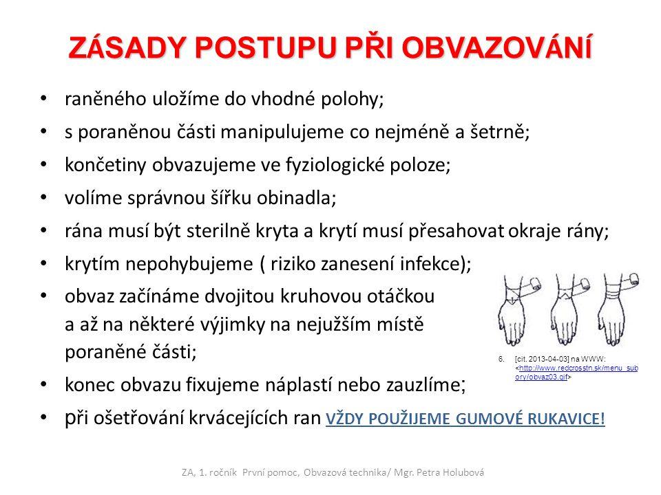 Šátkový obvaz nohy - botička Šátkový obvaz nohy - botička 19.[cit.