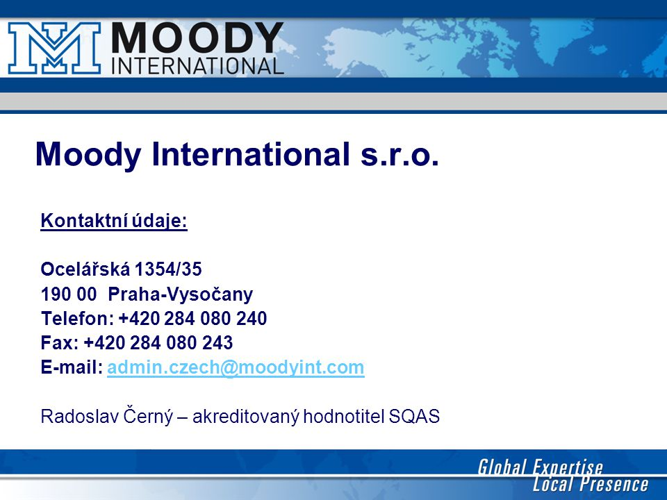 Moody International s.r.o.