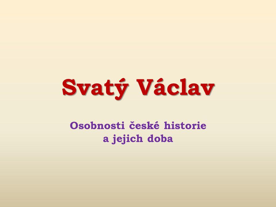 Obr. 5: Myslbekova jezdecká socha sv. Václava na Václavském náměstí v Praze)