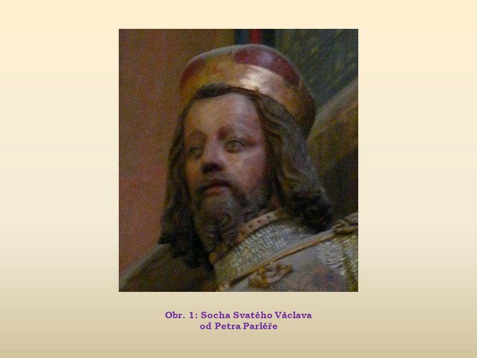 Obr. 1: Socha Svatého Václava od Petra Parléře