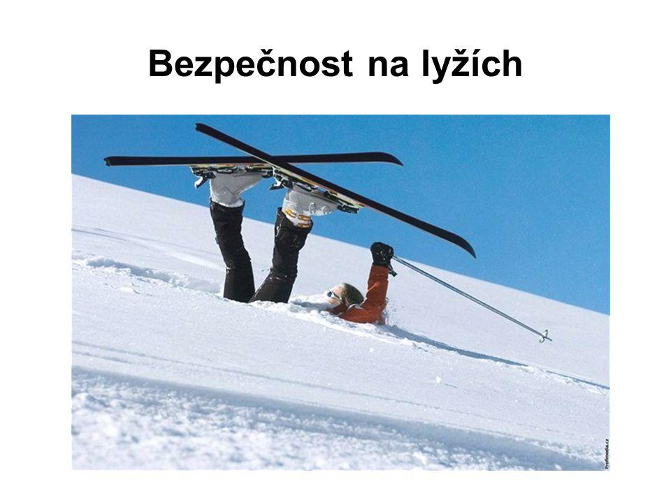 Bezpečnost na lyžích