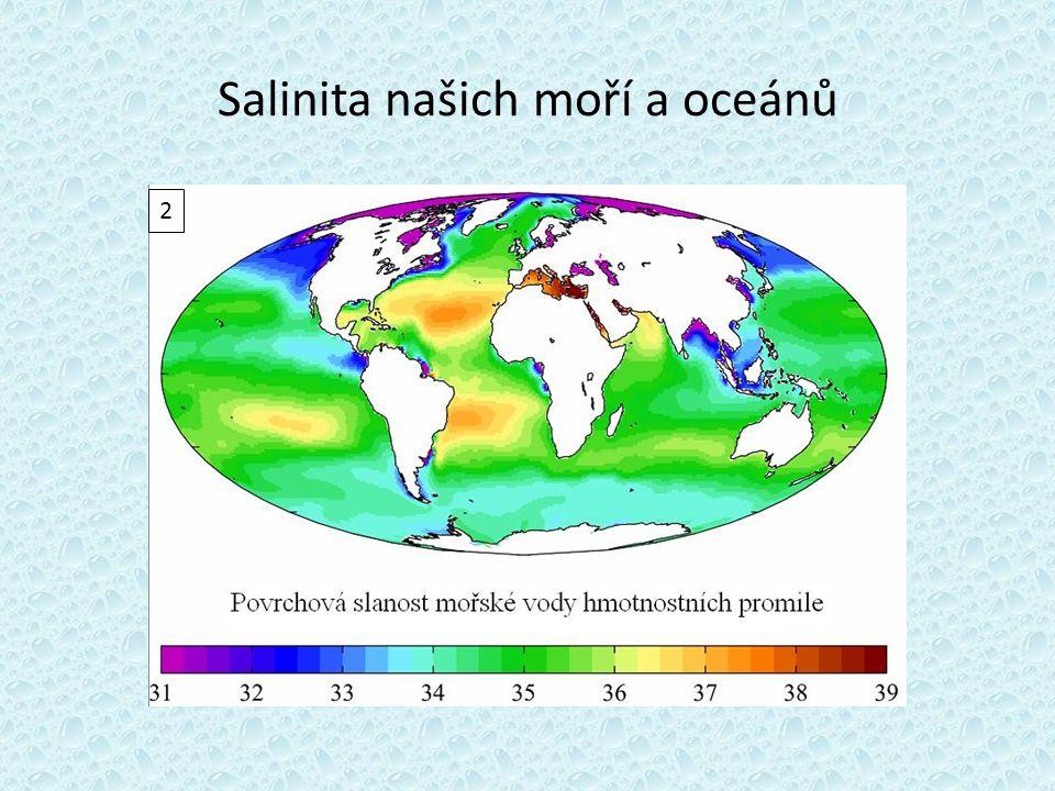 Salinita našich moří a oceánů 2