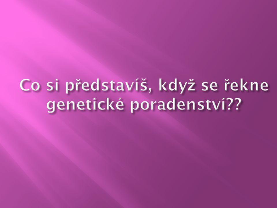 . Genetika - nauka o dědičnostech a proměnlivosti organismů Dědičnost – schopnost organismu uchovávat soubory genetických informací a předávat je potomkům DNA - Nositelka genetické informace Gen – základní jednotkou genetické informace Chromosomy - pentlicovité útvary vznikající v eukaryotních buňkách při jaderném dělení Karyotyp – soubor všech jaderných chromozomů buňky (23 párů)