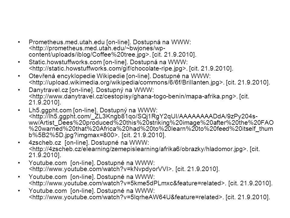 Prometheus.med.utah.edu [on-line].Dostupná na WWW:.
