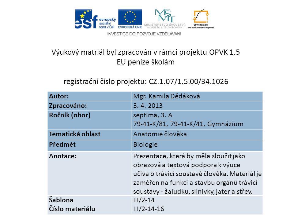 Použitá literatura a zdroje Jelínek, J.& Zicháček, V.