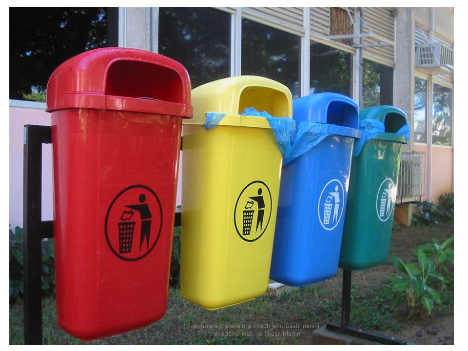 Co je třídění odpadu.