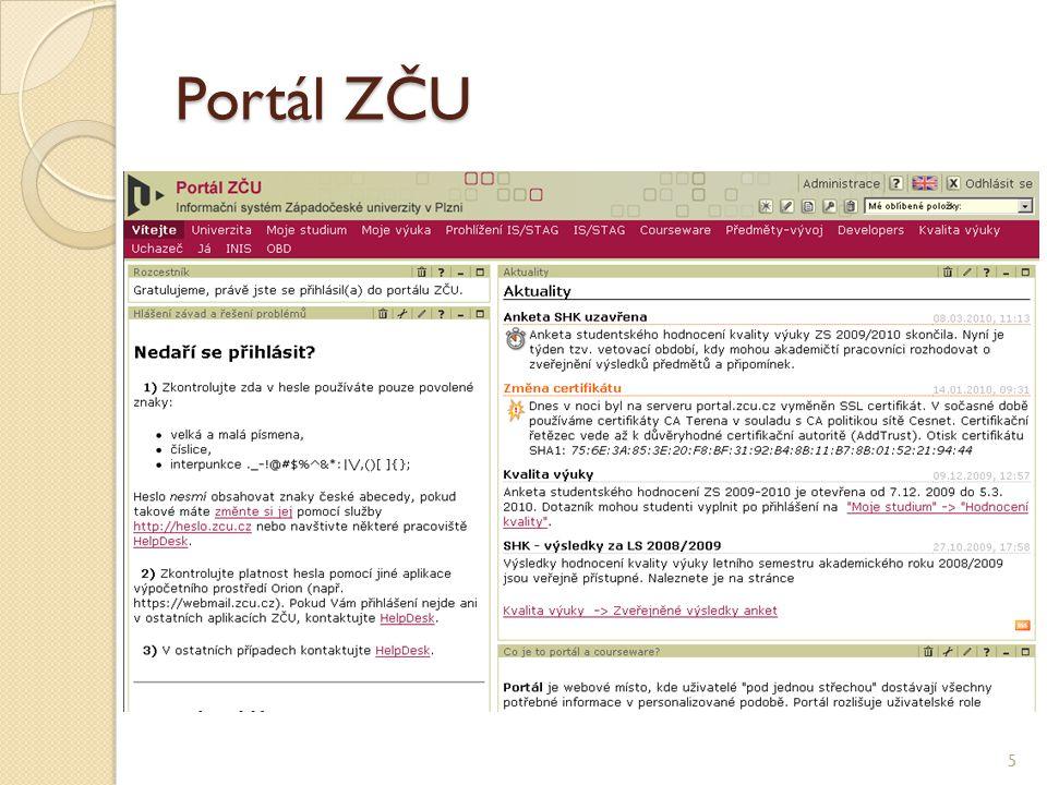 Portál ZČU 5
