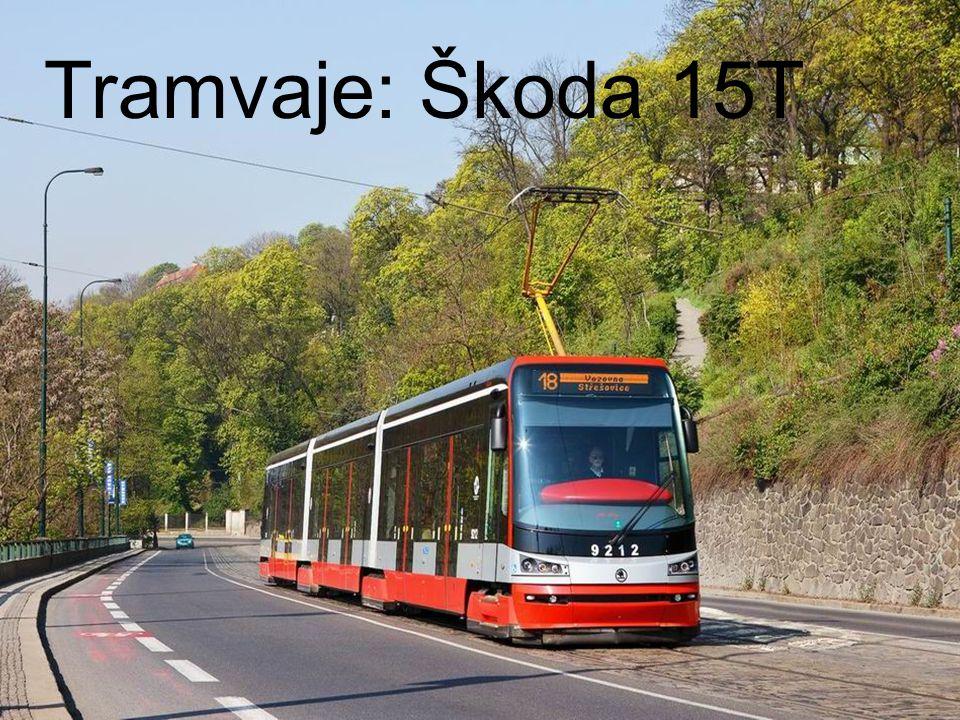 Petr SýkoraV12 Obecné informace Jednosměrná tramvaj konstruovaná speciálně pro Prahu 3 články