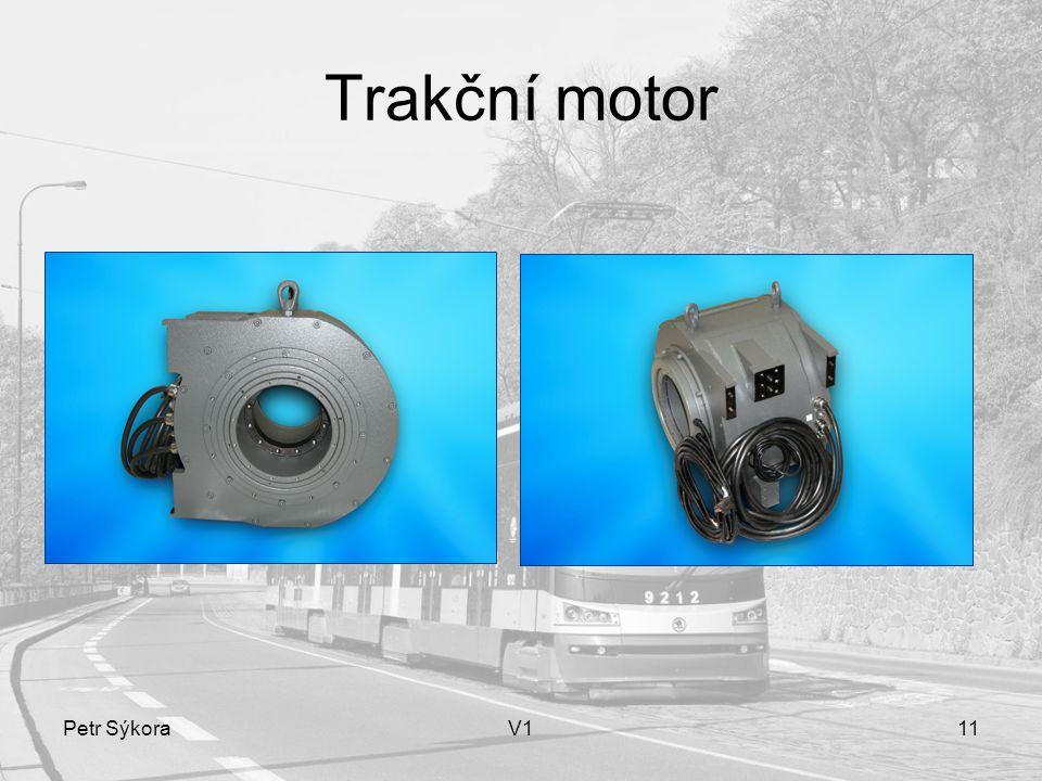 Petr SýkoraV111 Trakční motor