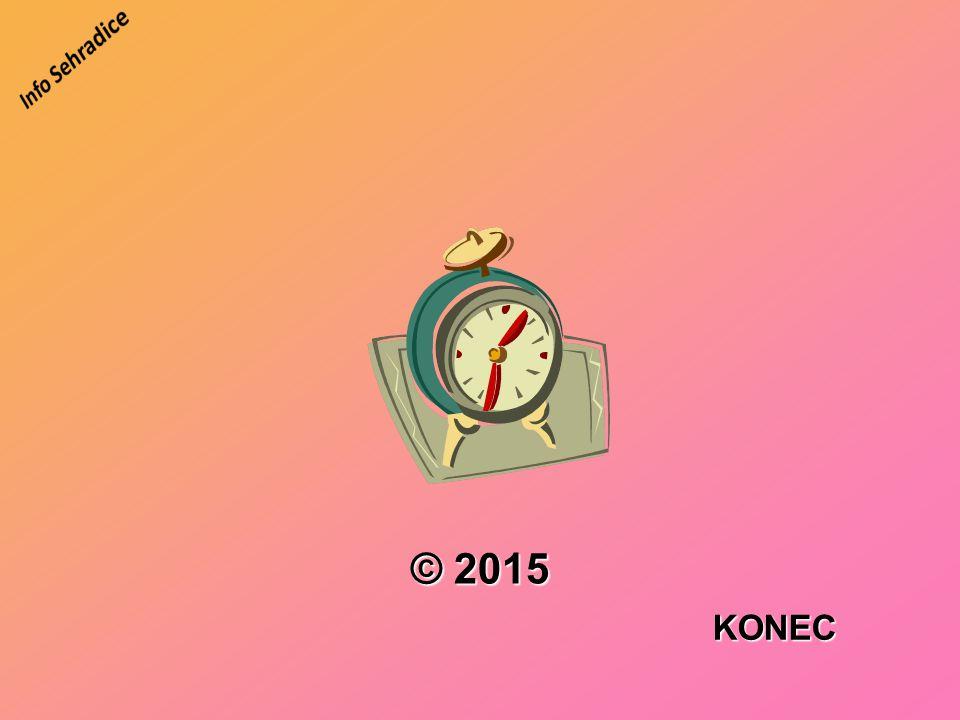KONEC © 2015