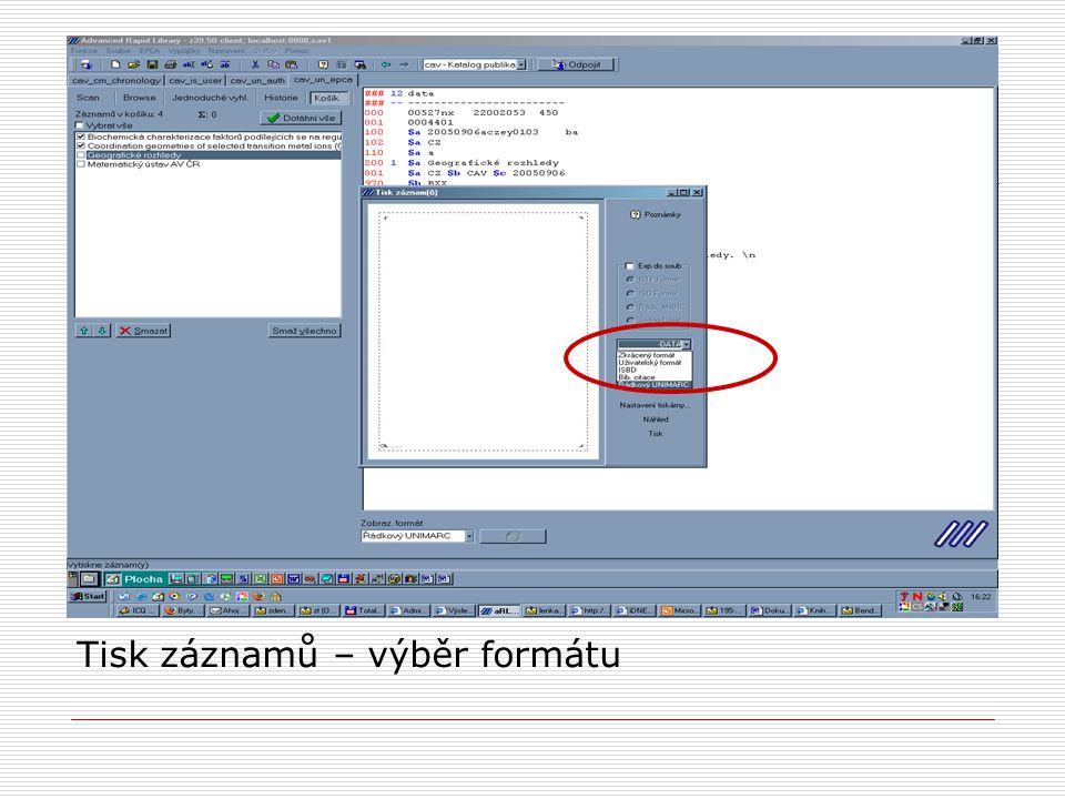 Webová kontrolní služba