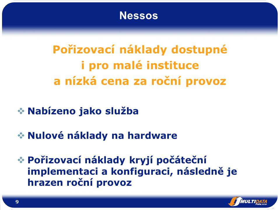 Nessos Web 2.0  Podpora interakce s koncovými uživateli (komentování obsahu, fóra, ankety).