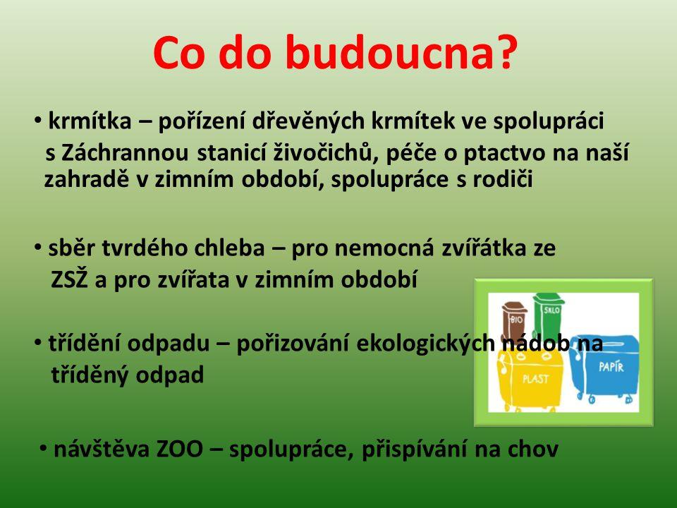 chráníme motýli - v Evropě patří ČR mezi státy, kde vymírají motýli nejvíce - na zahradě vytvoříme motýlí oázu s malou nádržkou na vodu a přitažlivými květinami Jak přispíváme k záchranně ohrožených druhů živočichů v naší MŠ.