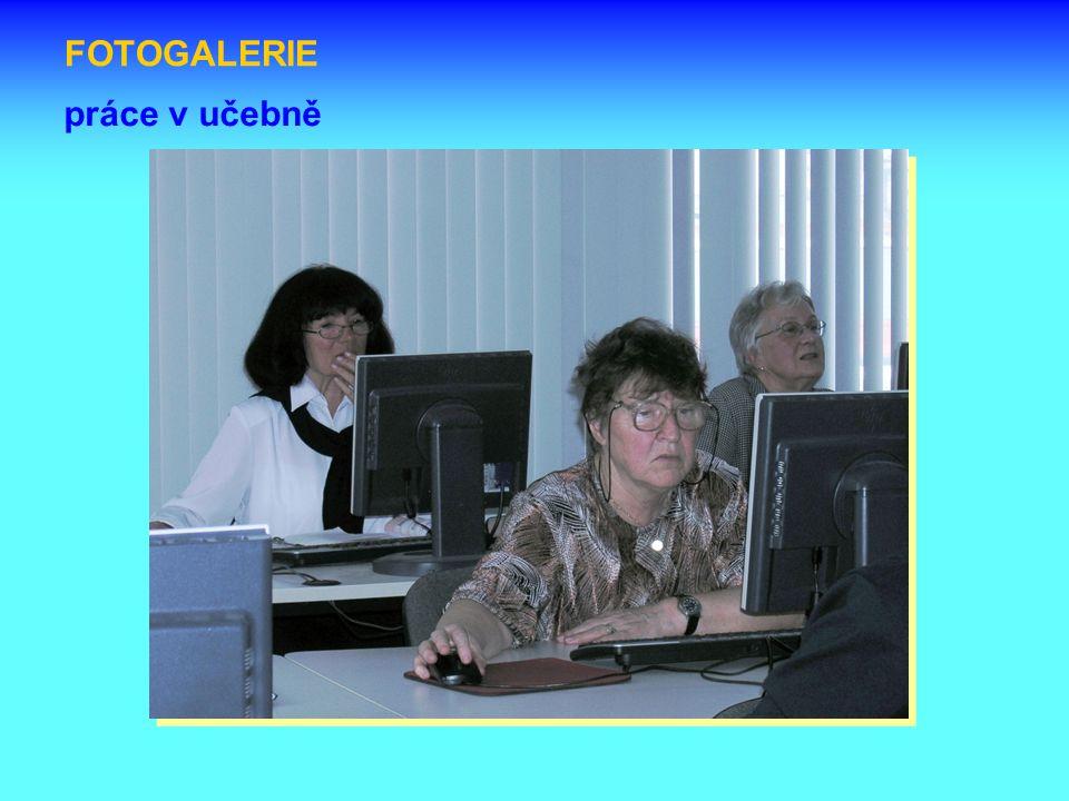 FOTOGALERIE práce v učebně