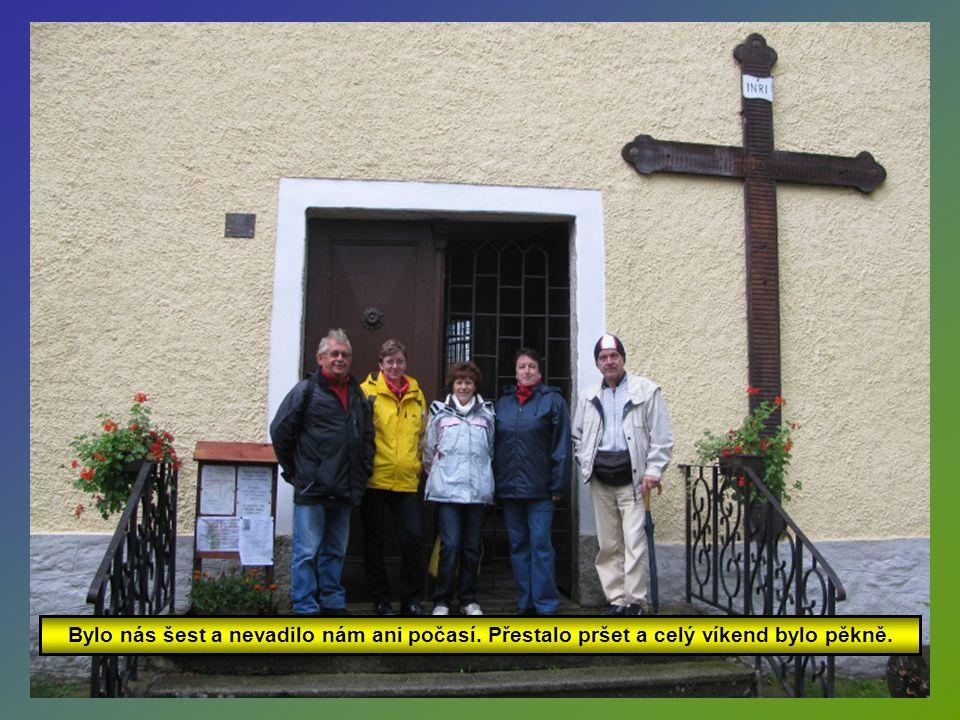 Sešli jsme se v sobotu 15.9.2012 na náměstí v Srní