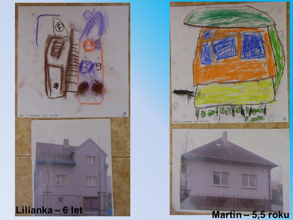 Martin – 5,5 roku Lilianka – 6 let