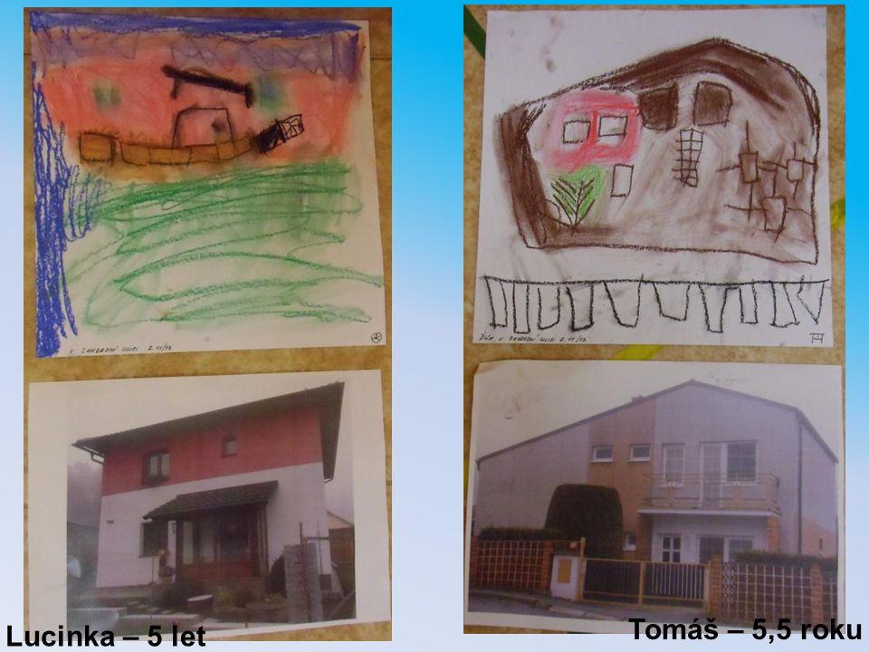 Lucinka – 5 let Tomáš – 5,5 roku