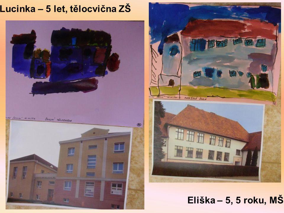 Lucinka – 5 let, tělocvična ZŠ Eliška – 5, 5 roku, MŠ