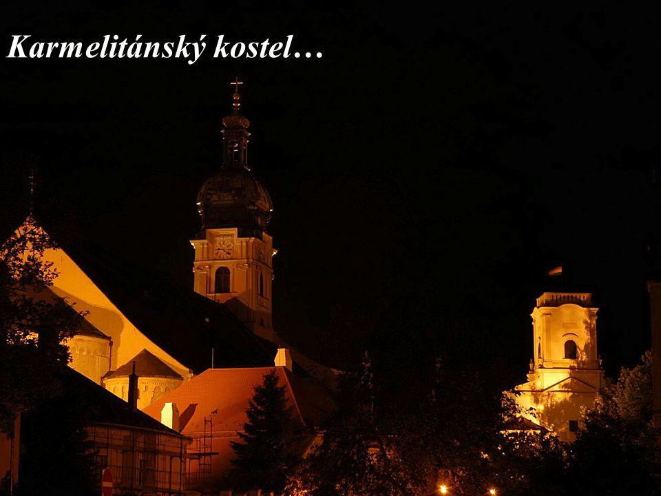 Karmelitánský kostel…
