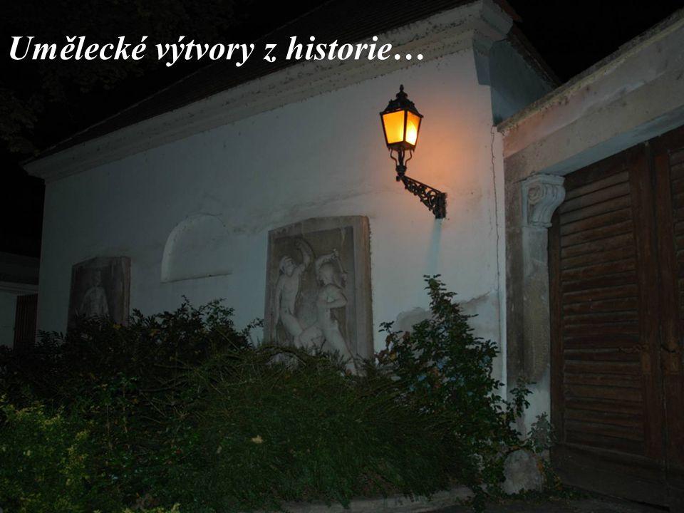 Umělecké výtvory z historie…