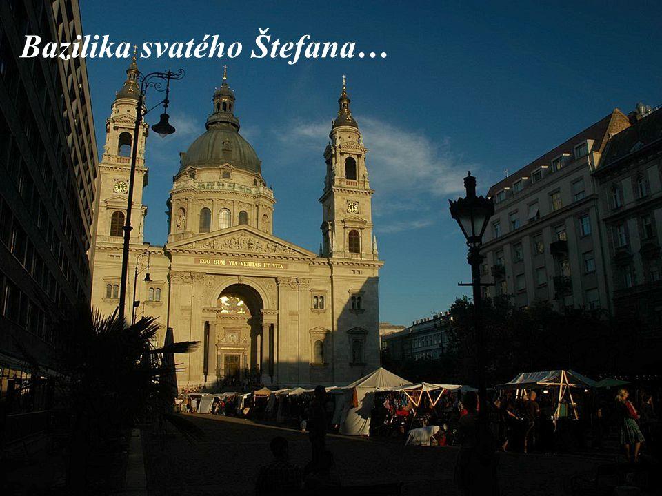 Bazilika svatého Štefana…