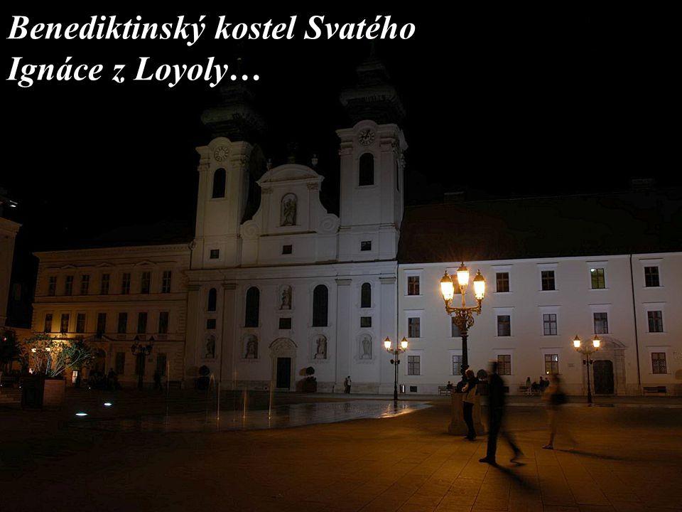 Benediktinský kostel Svatého Ignáce z Loyoly…