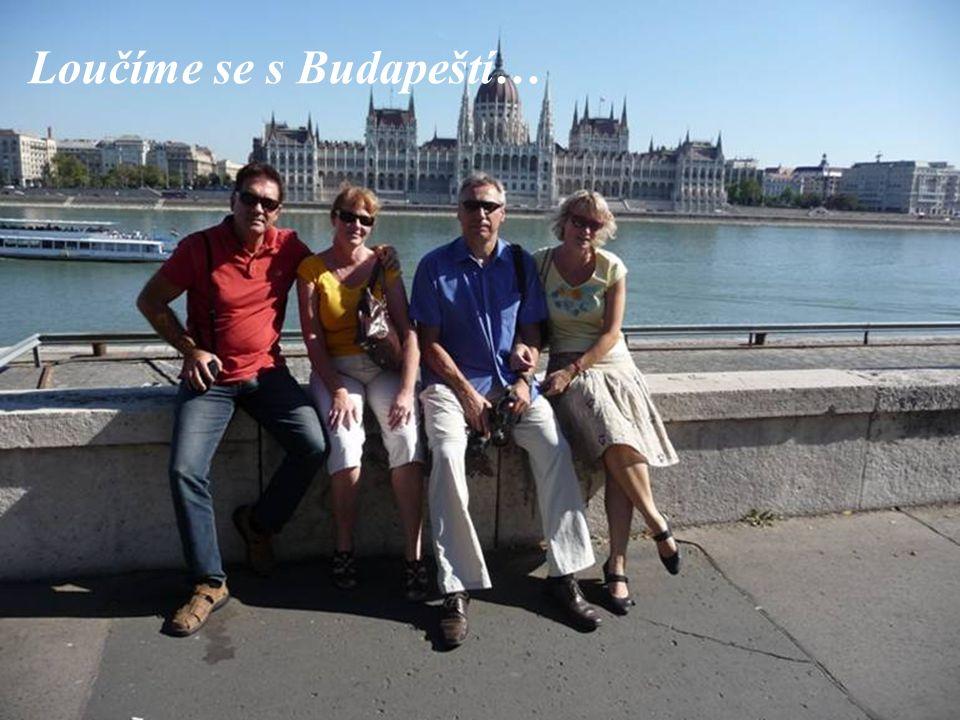 Loučíme se s Budapeští…