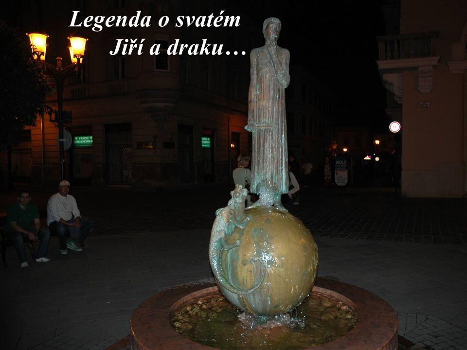 Legenda o svatém Jiří a draku…