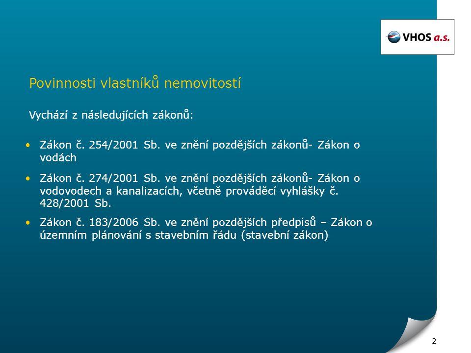 3 Zákon o vodách č.254/2001 Sb.
