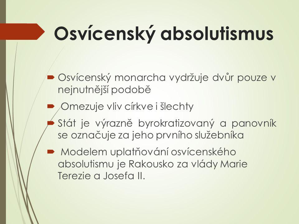 Základní reformy Josefa II. 13.10.