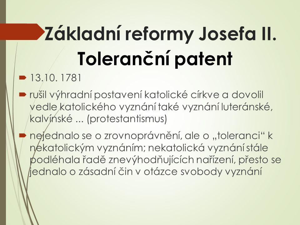 Patent o zrušení nevolnictví  1.11.