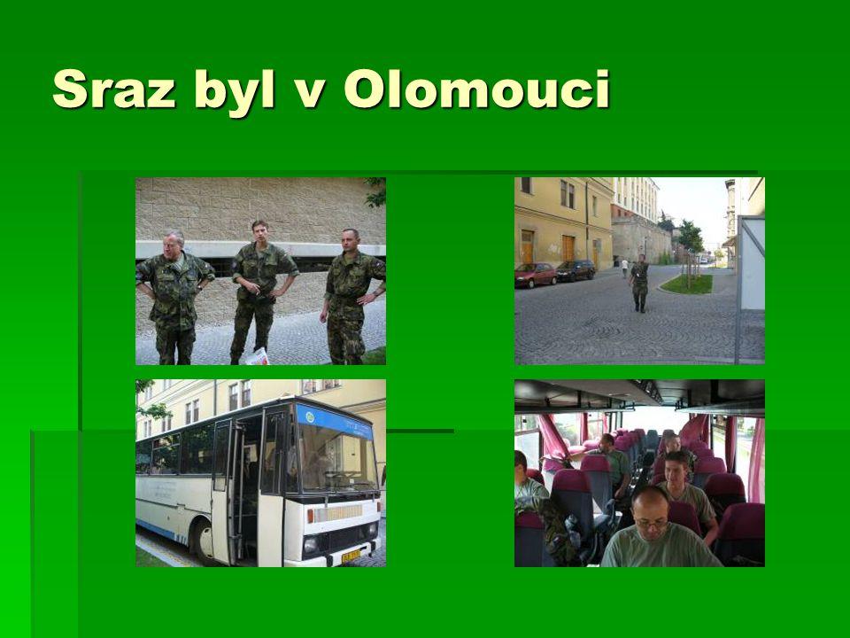 Sraz byl v Olomouci