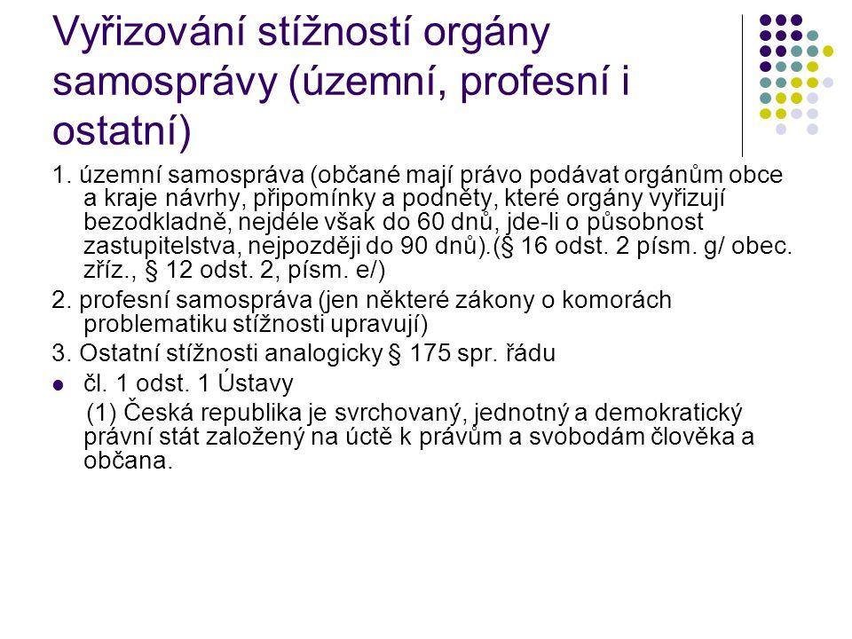 C.Veřejný ochránce práv (zákon č.
