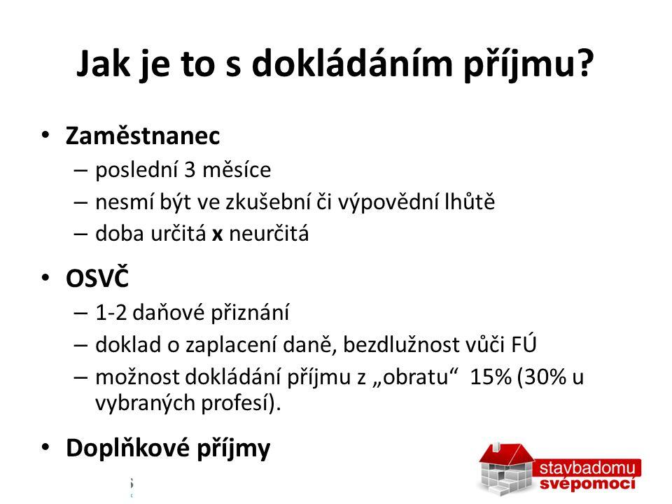 Dokládání faktur při výstavbě Doklad NEVYŽADUJE – Hypoteční banka – Raiffeisen banka – Česká spořitelna