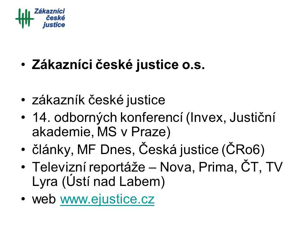 Zákazníci české justice o.s. zákazník české justice 14.