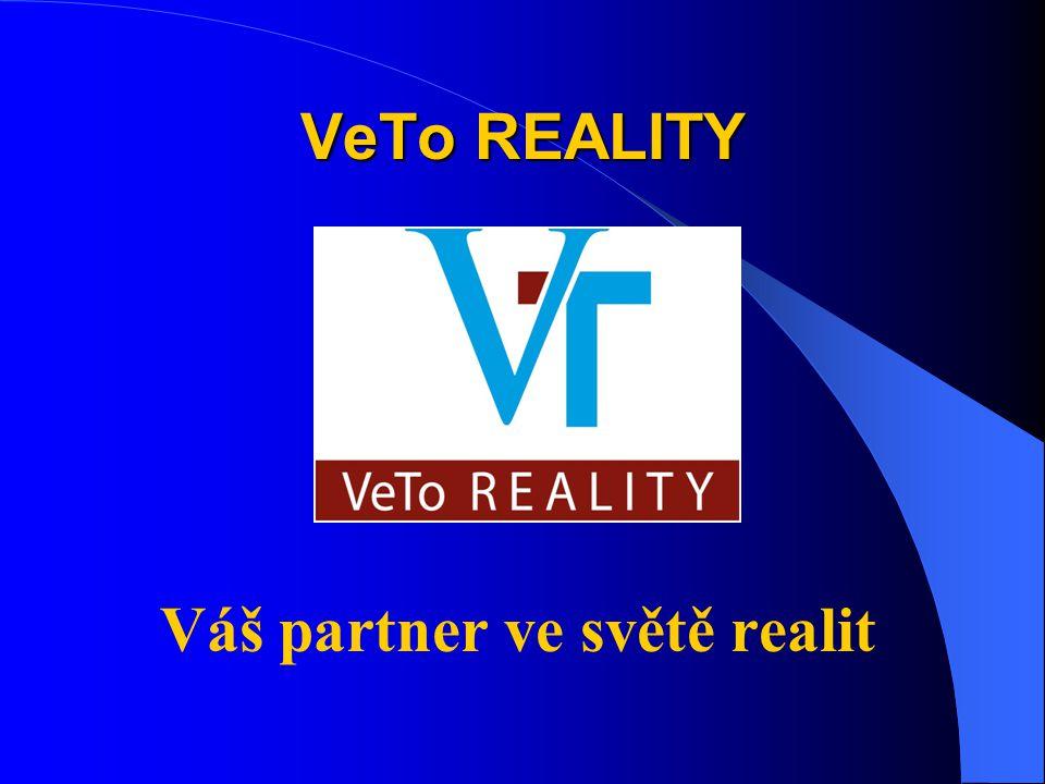 VeTo REALITY Váš partner ve světě realit