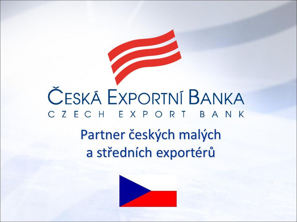 Partner českých malých a středních exportérů
