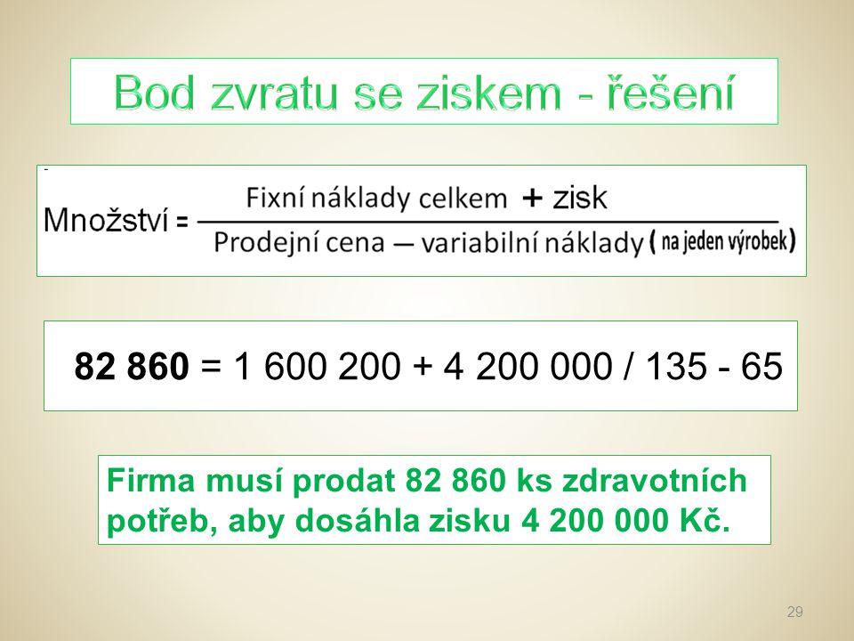 1)Vypočítává se pro určité období.2)Je zaměřen na náklady a výnosy.