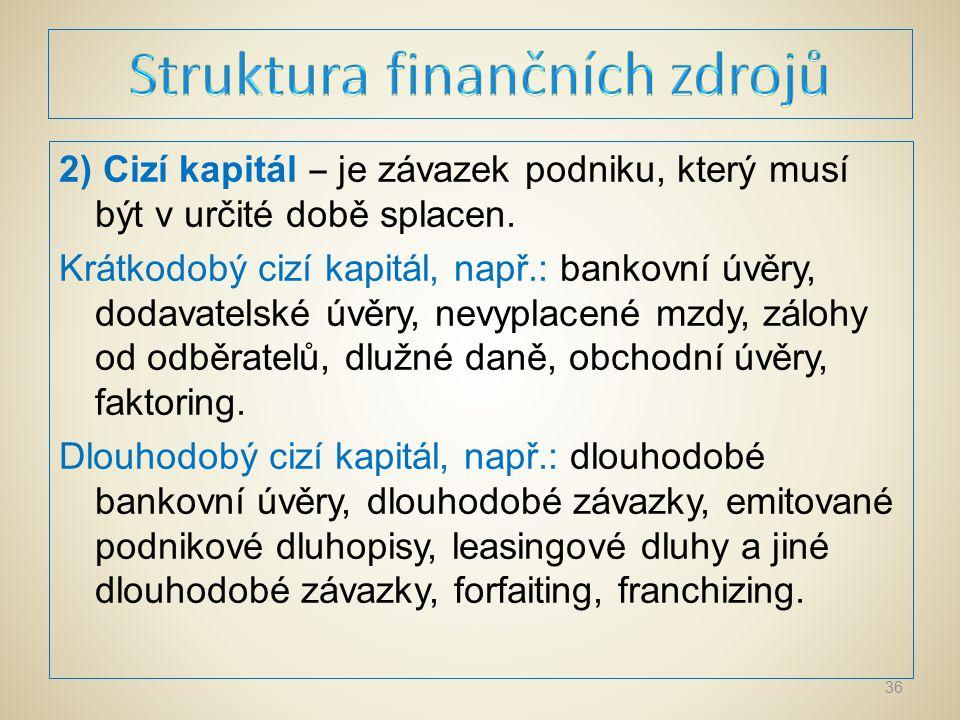 Faktoring znamená odkup krátkodobých pohledávek faktoringovou společností, kterou bývá zpravidla banka.