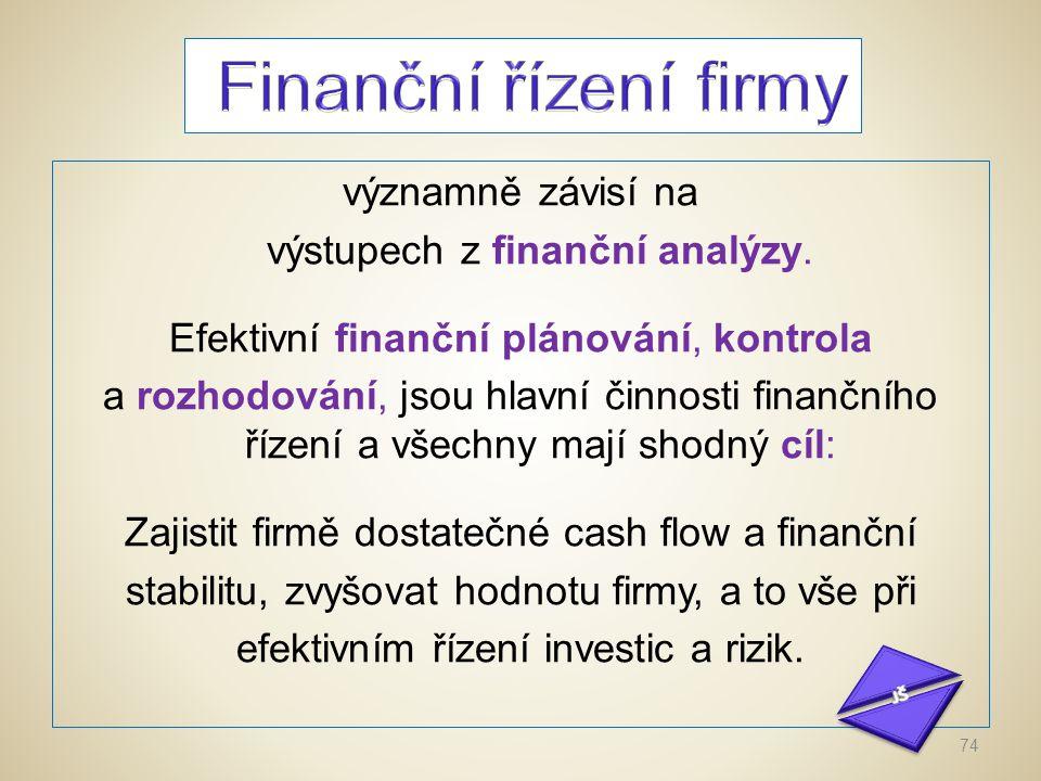 Zisk plní následující funkce: Je kritériem pro rozhodování o základních otázkách ekonomiky podniku, např.