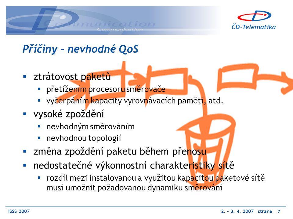 ISSS 20072. – 3. 4.