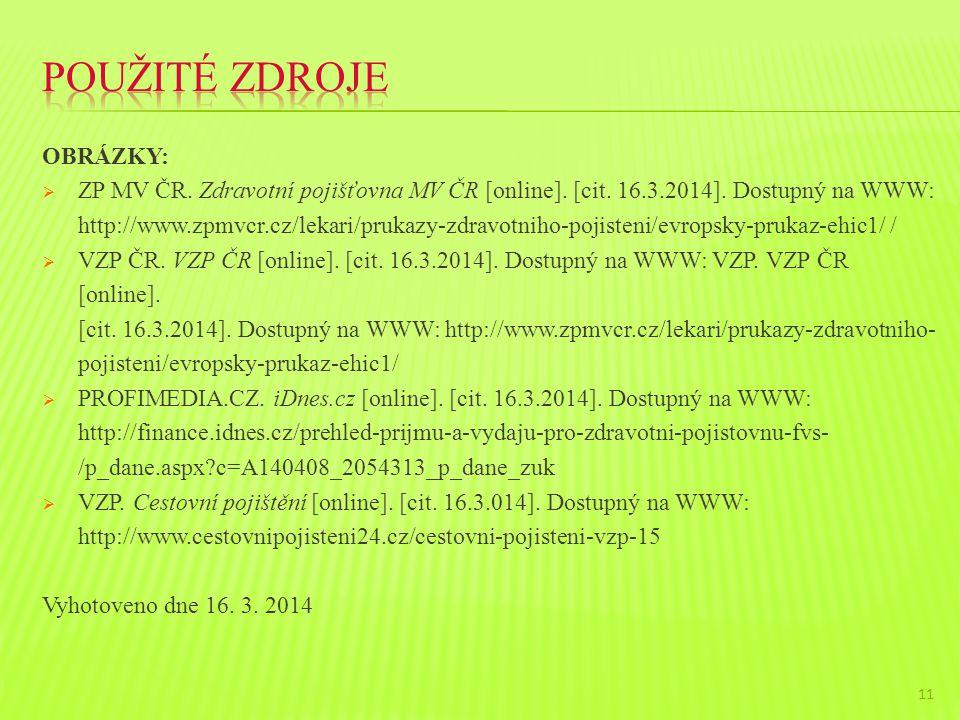 OBRÁZKY:  ZP MV ČR. Zdravotní pojišťovna MV ČR [online].