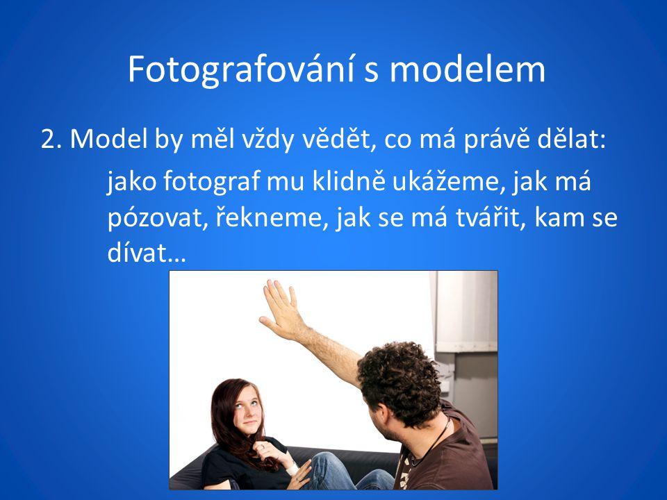 Fotografování s modelem 2.