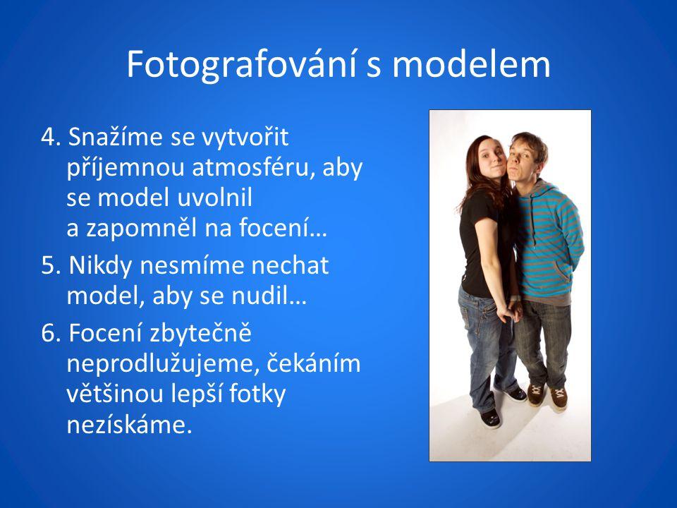 Fotografování s modelem 4.
