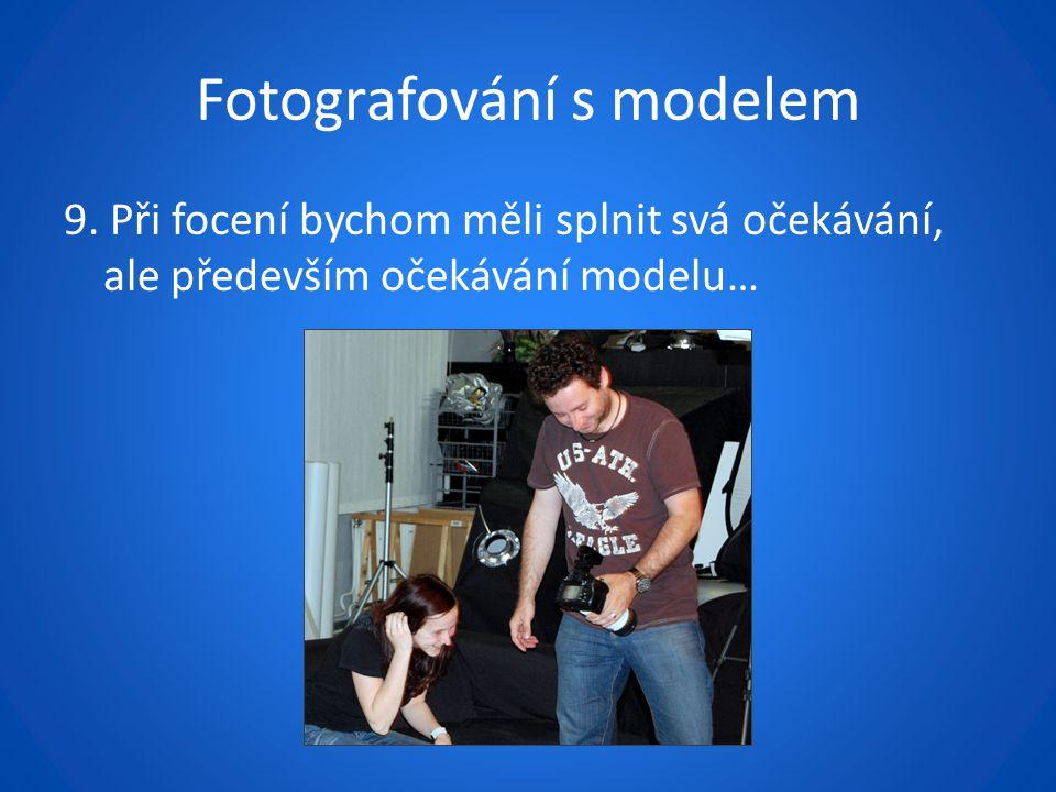 Fotografování s modelem 9.