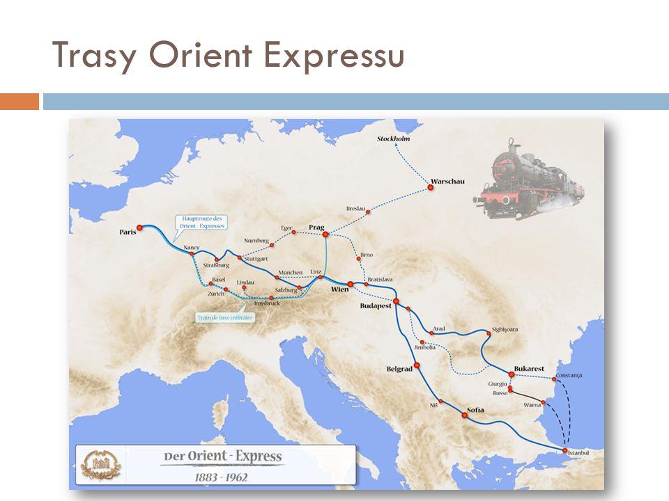 Trasy Orient Expressu
